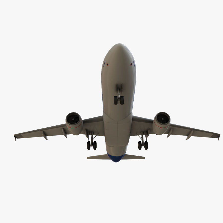 Airbus A320 royalty-free 3d model - Preview no. 15