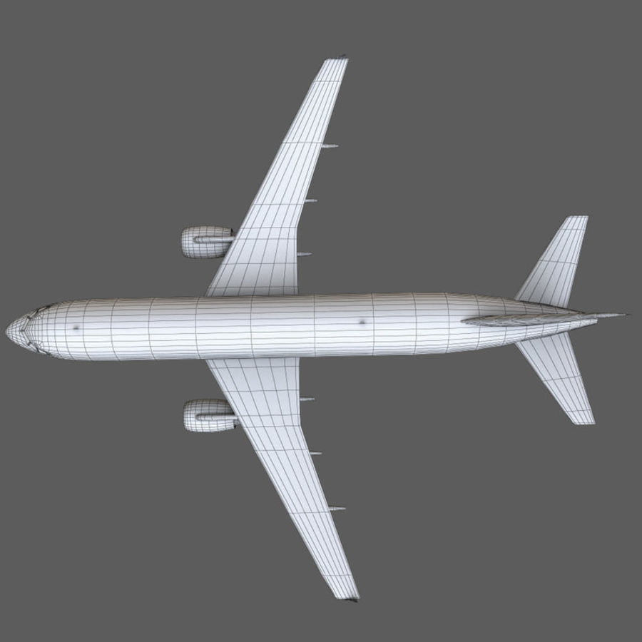 Airbus A320 royalty-free 3d model - Preview no. 44