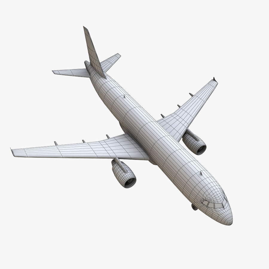 Airbus A320 royalty-free 3d model - Preview no. 31