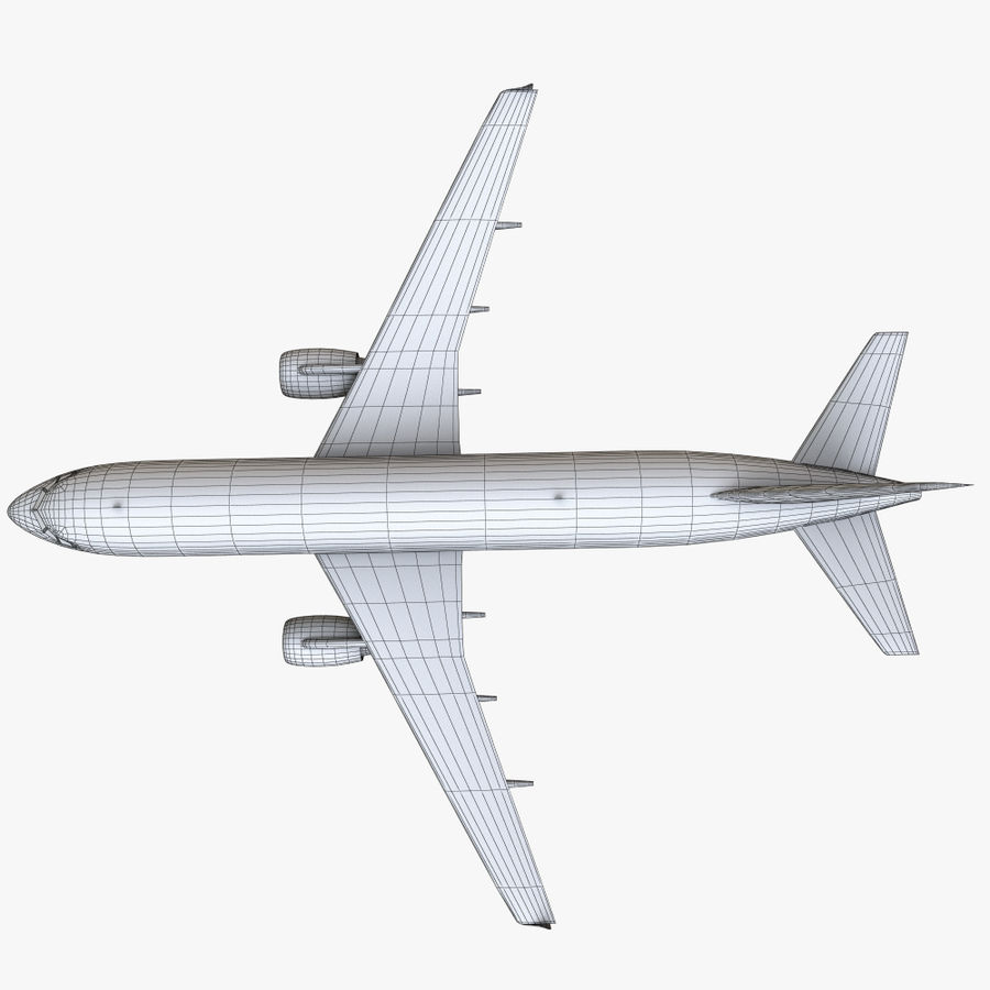 Airbus A320 royalty-free 3d model - Preview no. 39