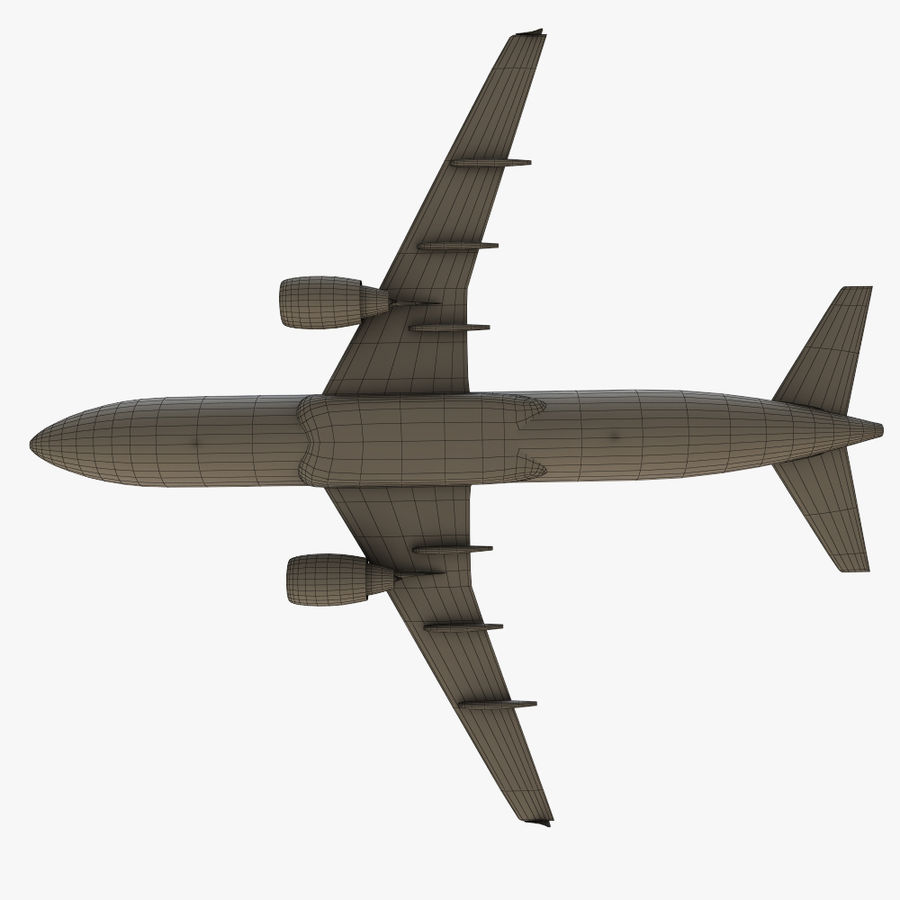 Airbus A320 royalty-free 3d model - Preview no. 37