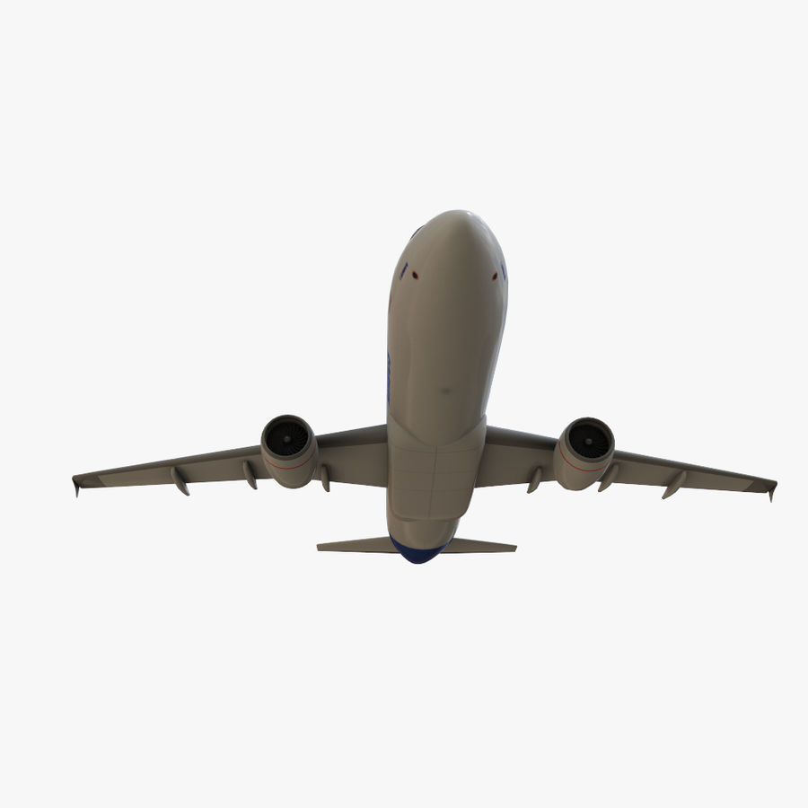 Airbus A320 royalty-free 3d model - Preview no. 17