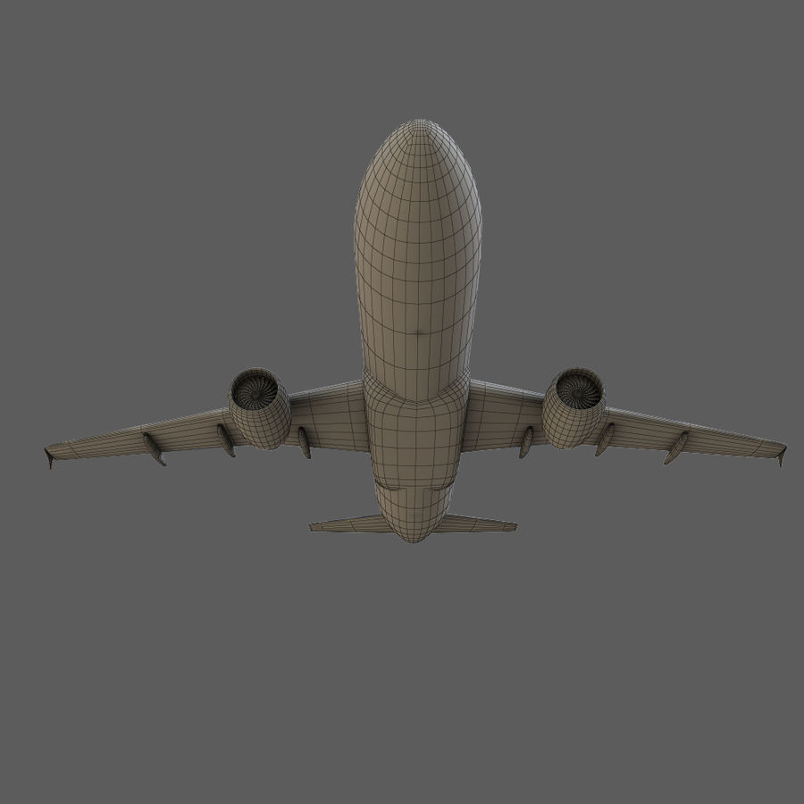 Airbus A320 royalty-free 3d model - Preview no. 36
