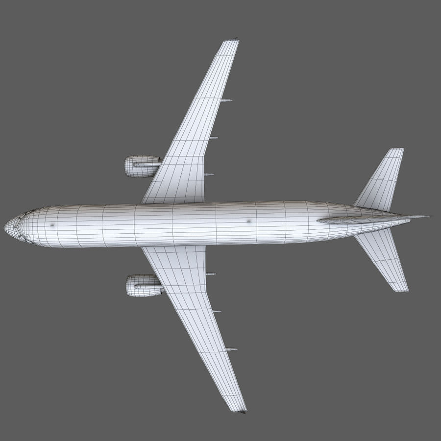 Airbus A320 royalty-free 3d model - Preview no. 42