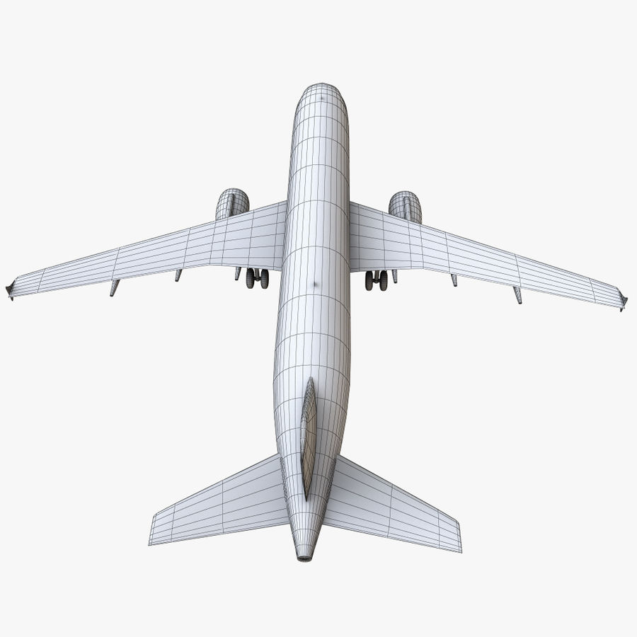 Airbus A320 royalty-free 3d model - Preview no. 27