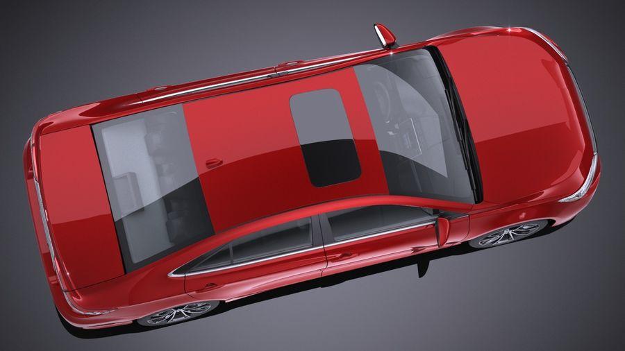 도요타 캠리 XSE 2017 royalty-free 3d model - Preview no. 12