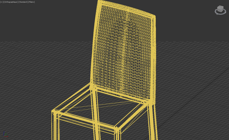 Extendable Modern Table Set royalty-free 3d model - Preview no. 17