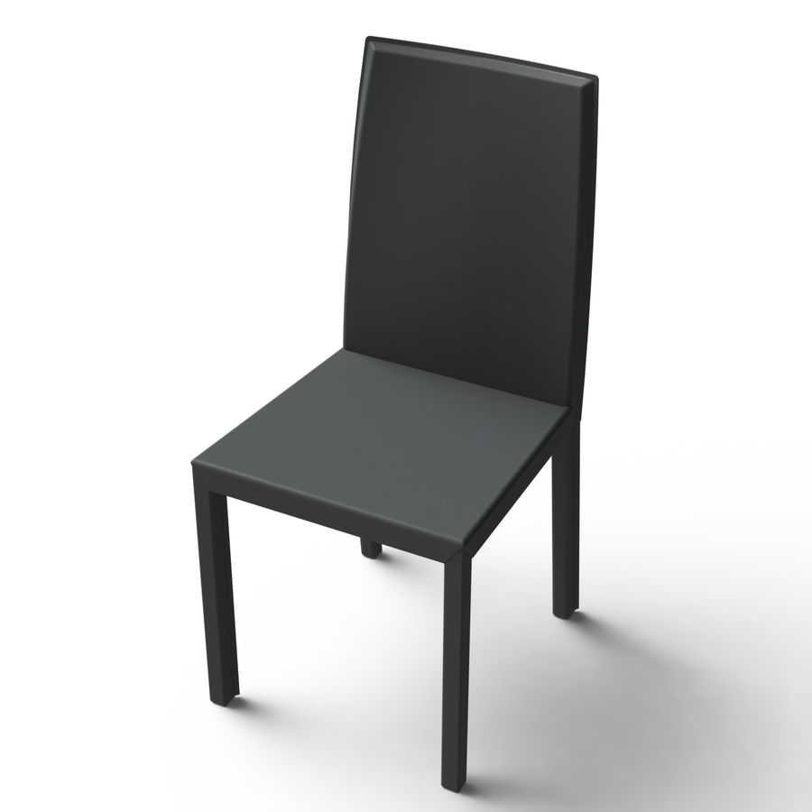 Extendable Modern Table Set royalty-free 3d model - Preview no. 15