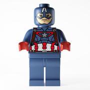 Kapten Amerika 3d model
