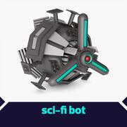 Liten bot 3d model