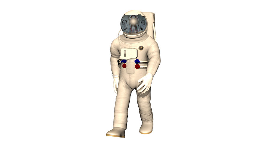 Astronaut royalty-free 3d model - Preview no. 2