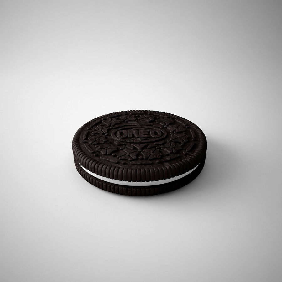 oreo royalty-free 3d model - Preview no. 5