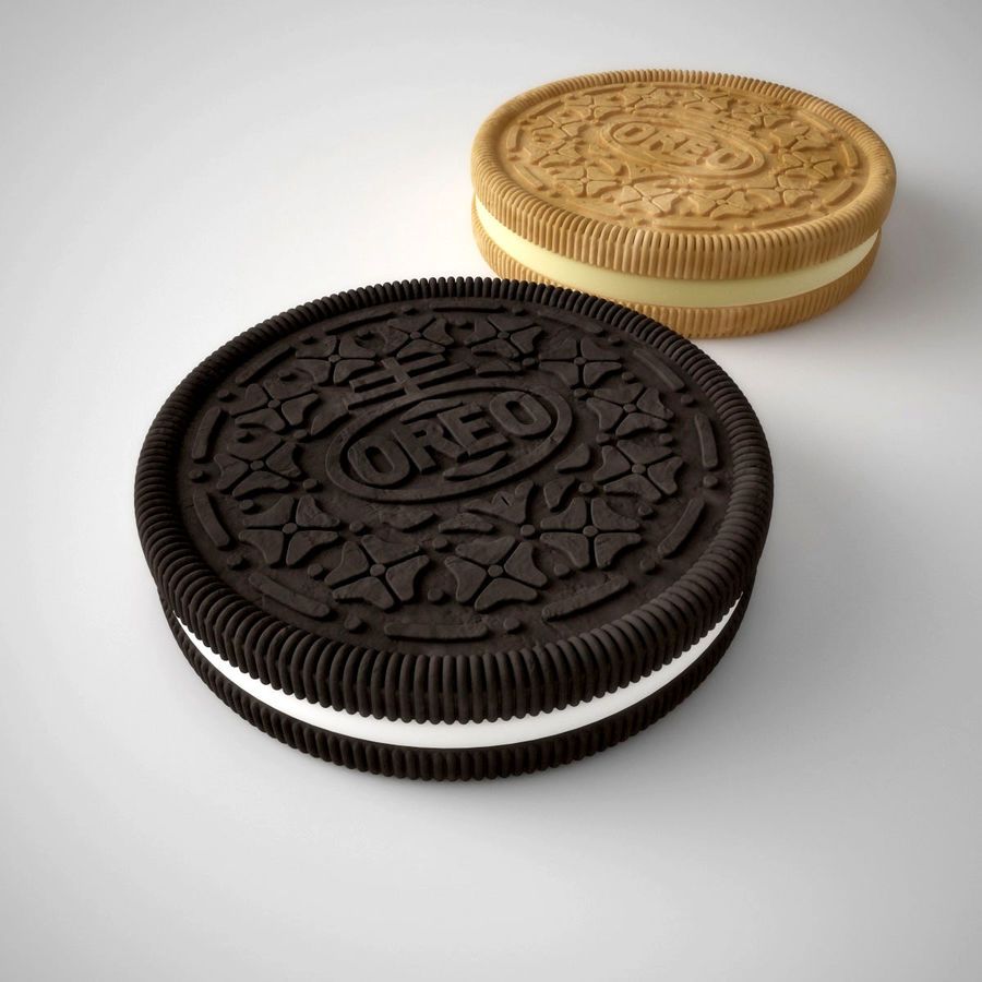 oreo royalty-free 3d model - Preview no. 1