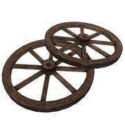 老木轮 3d model