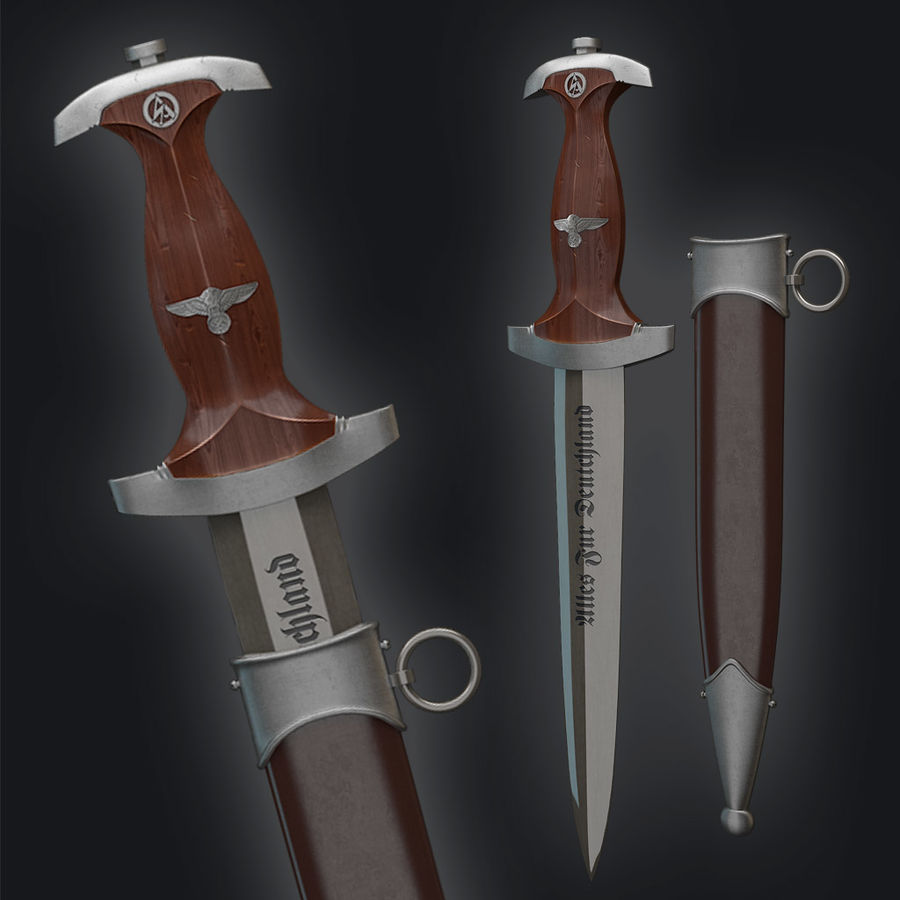 SA Dagger royalty-free 3d model - Preview no. 5