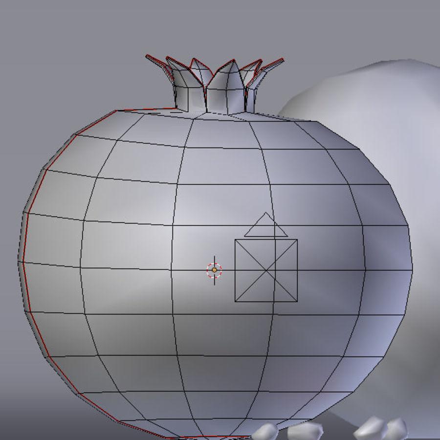 гранатовый royalty-free 3d model - Preview no. 5