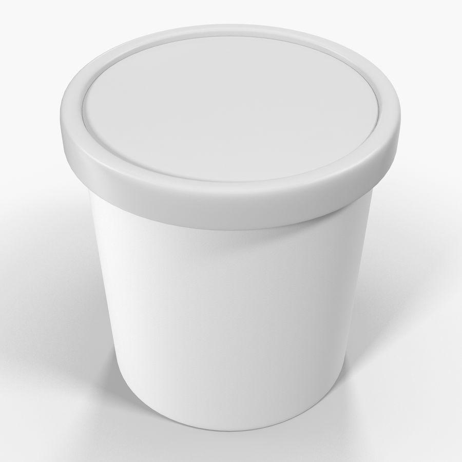 冰淇淋品脱通用包 royalty-free 3d model - Preview no. 6