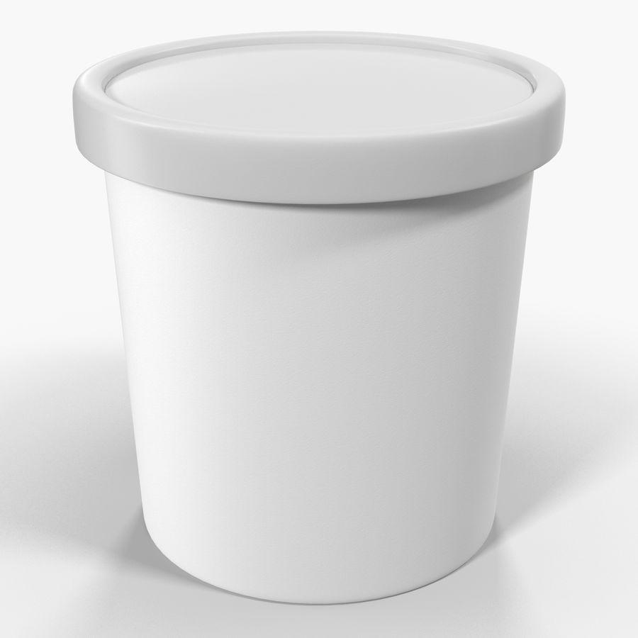 冰淇淋品脱通用包 royalty-free 3d model - Preview no. 5