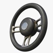 Руль 3d model