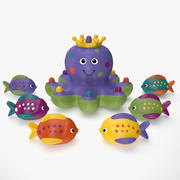 Octopus Bath Toy 3d model
