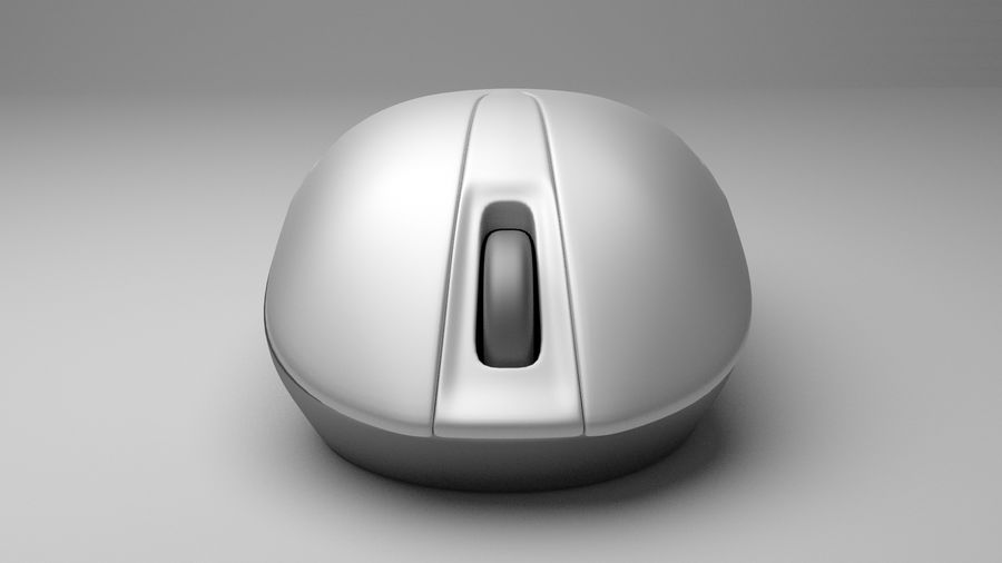 Computer Mouse royalty-free 3d model - Preview no. 4