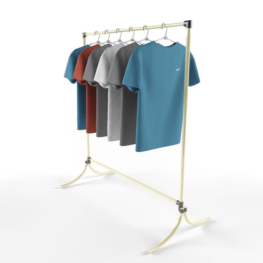 T-shirt met hanger royalty-free 3d model - Preview no. 1