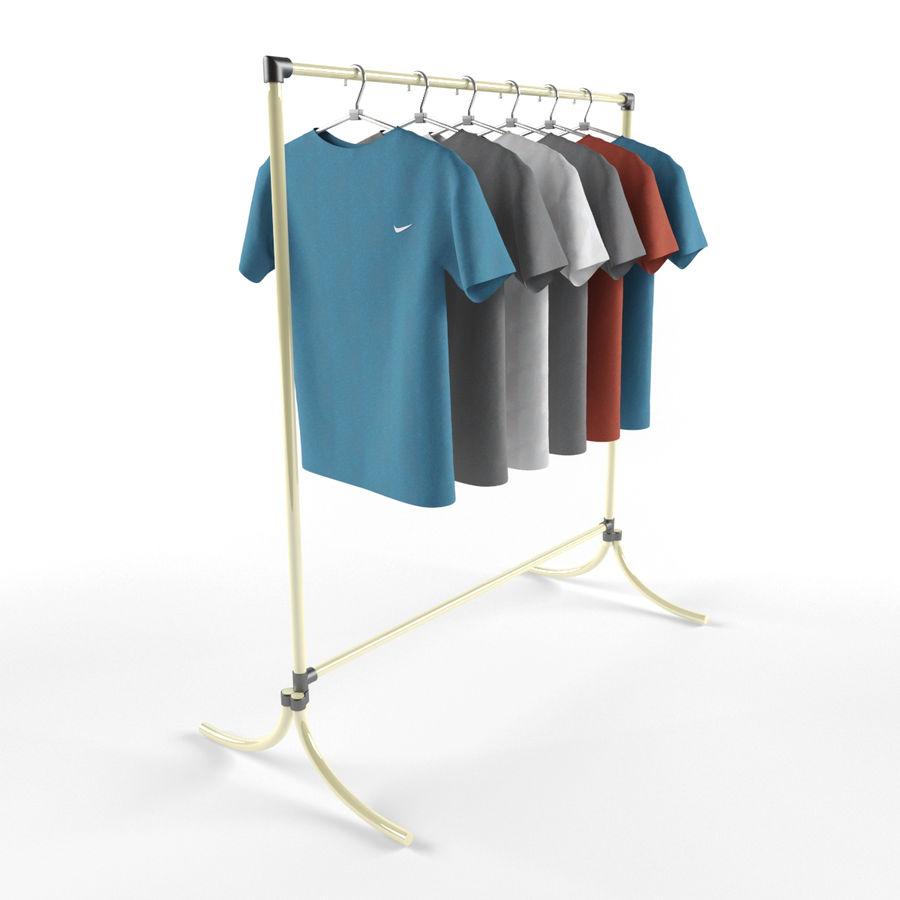 T-shirt met hanger royalty-free 3d model - Preview no. 2