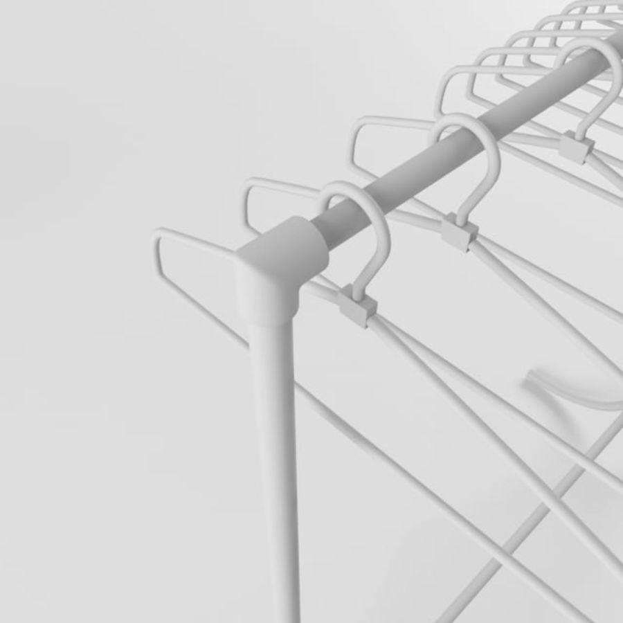 T-shirt met hanger royalty-free 3d model - Preview no. 9
