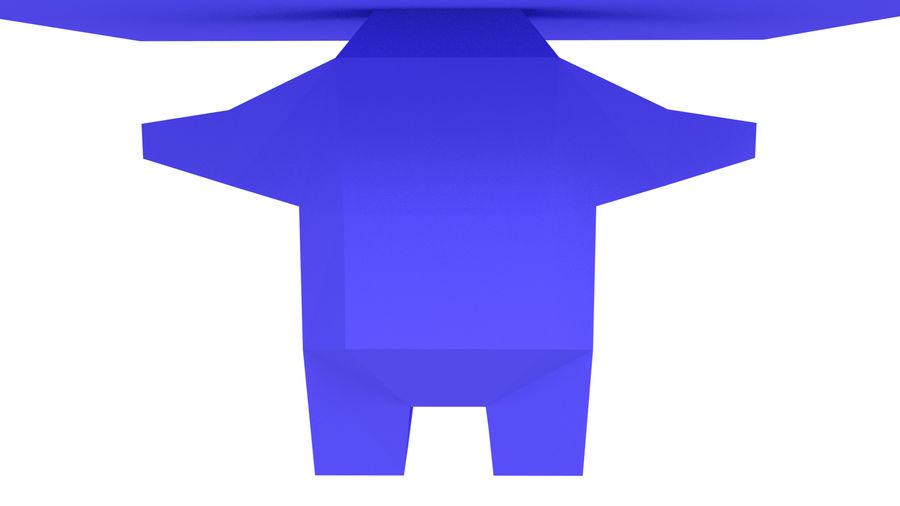Низкополигональный персонаж royalty-free 3d model - Preview no. 3