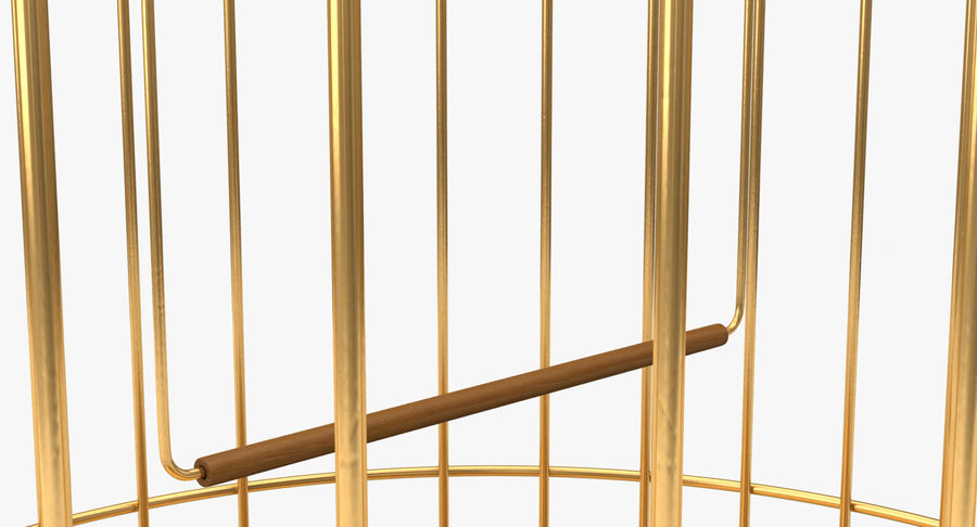 Bird Cage royalty-free 3d model - Preview no. 7