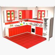 Keuken 3d model
