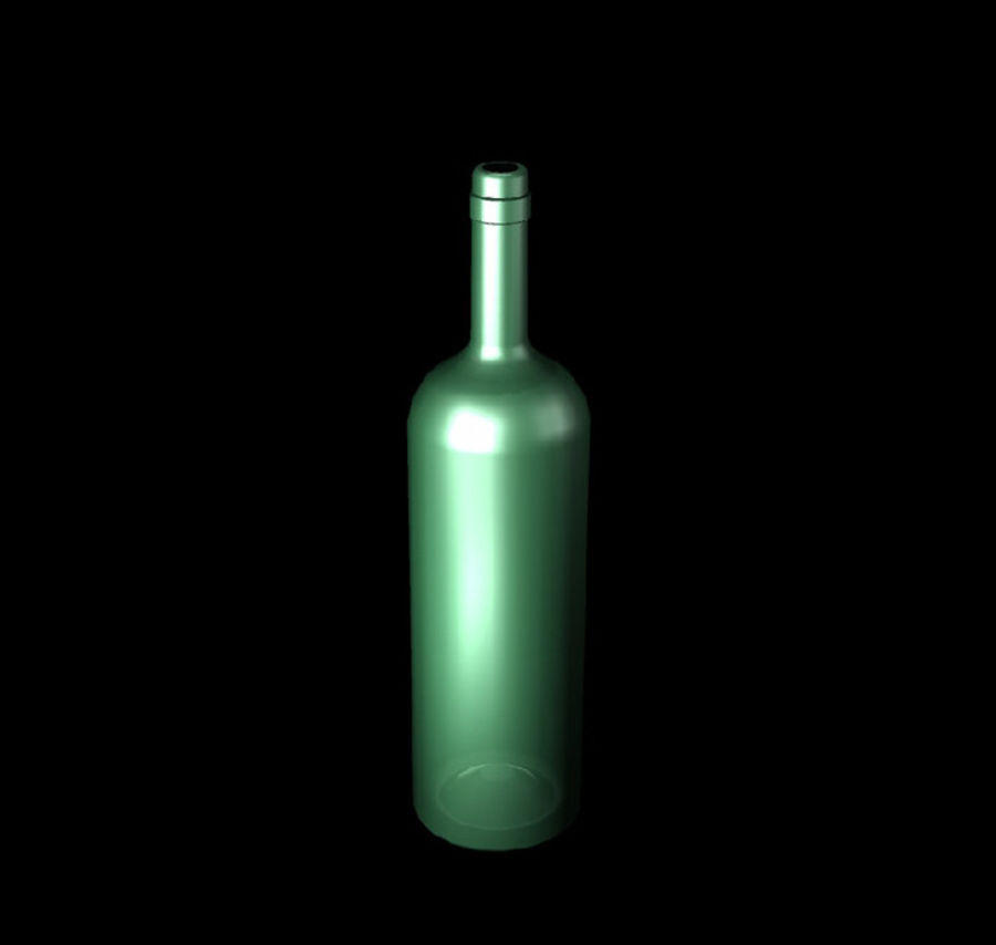 Glass Bottle royalty-free 3d model - Preview no. 1