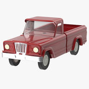 Toy Truck 02 3d model