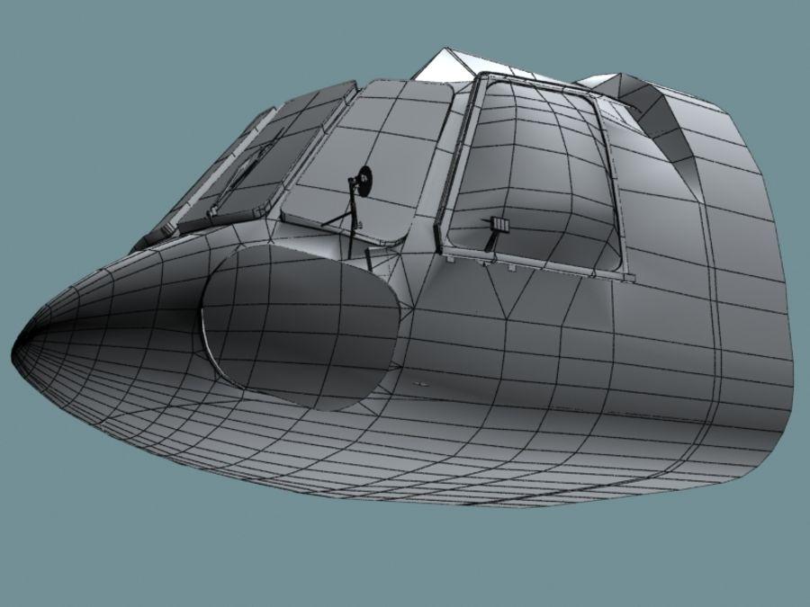 Mi7 Cockpit royalty-free 3d model - Preview no. 28