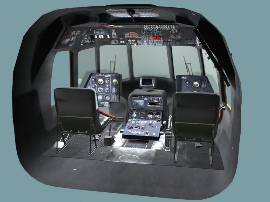 Mi7 Cockpit royalty-free 3d model - Preview no. 6