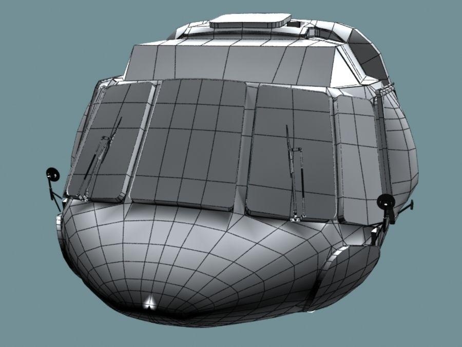 Mi7 Cockpit royalty-free 3d model - Preview no. 27