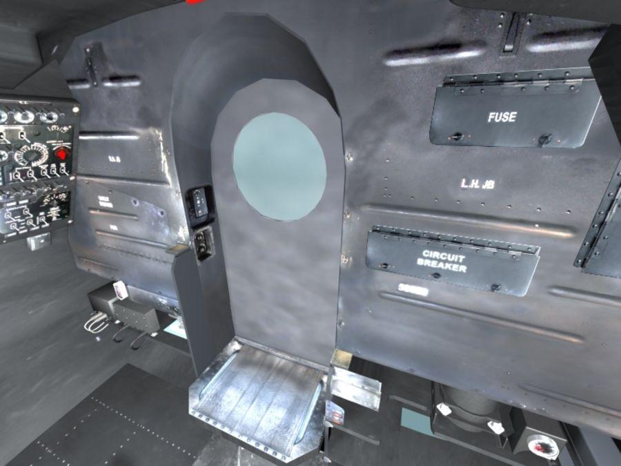 Mi7 Cockpit royalty-free 3d model - Preview no. 26