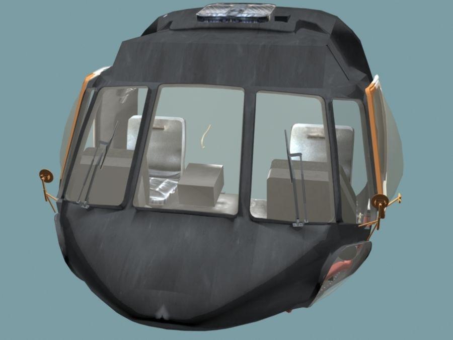 Mi7 Cockpit royalty-free 3d model - Preview no. 3