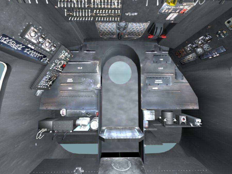 Mi7 Cockpit royalty-free 3d model - Preview no. 23