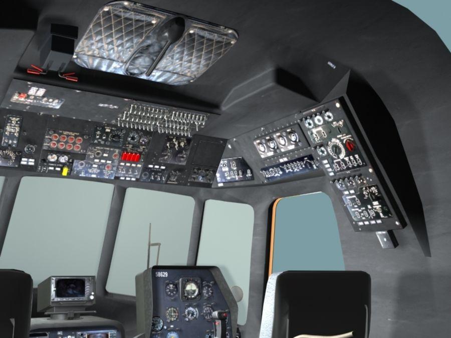 Mi7 Cockpit royalty-free 3d model - Preview no. 7