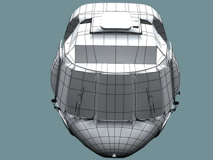 Mi7 Cockpit royalty-free 3d model - Preview no. 30