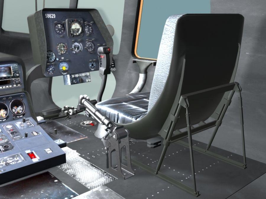 Mi7 Cockpit royalty-free 3d model - Preview no. 11