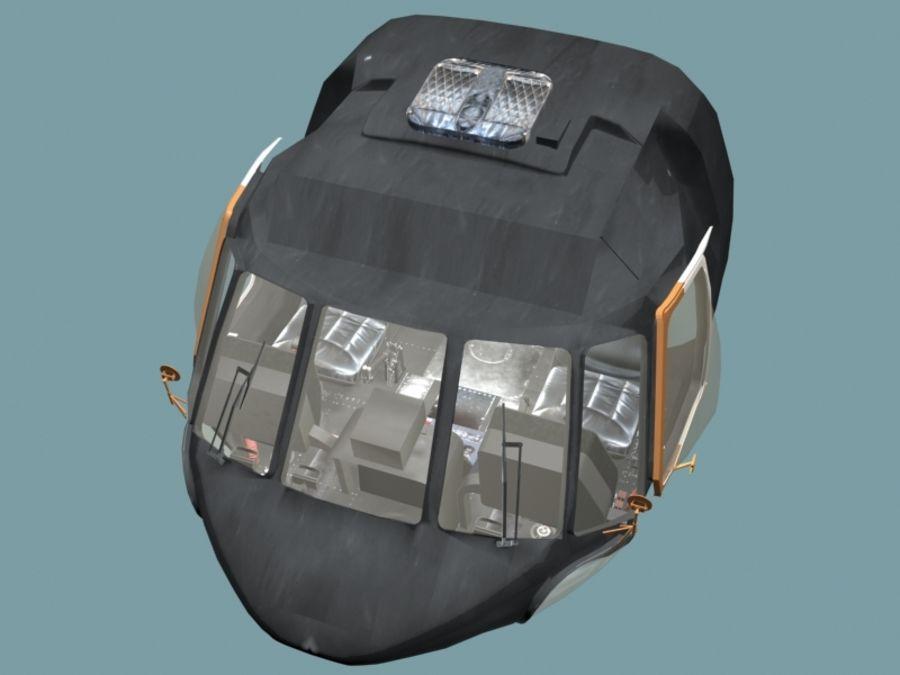 Mi7 Cockpit royalty-free 3d model - Preview no. 5
