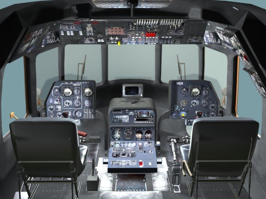 Mi7 Cockpit royalty-free 3d model - Preview no. 9
