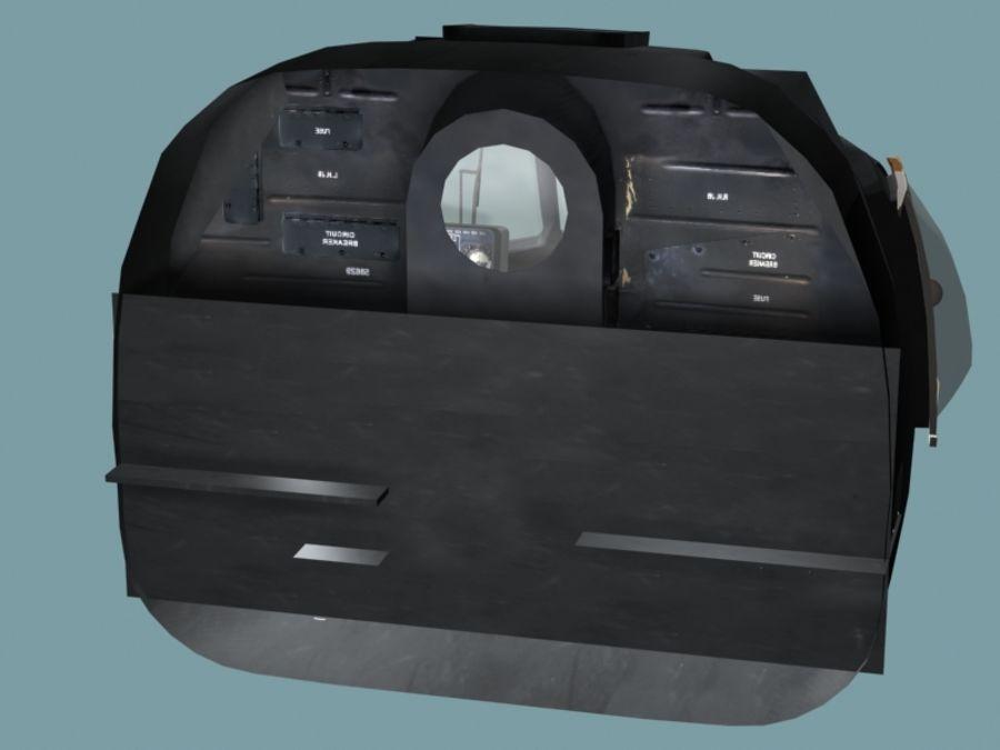 Mi7 Cockpit royalty-free 3d model - Preview no. 20