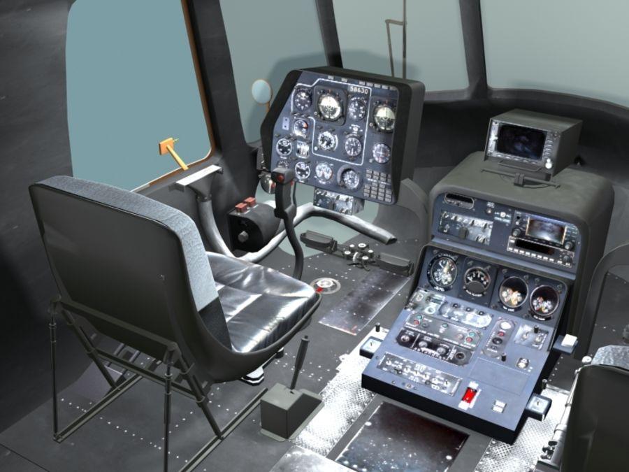 Mi7 Cockpit royalty-free 3d model - Preview no. 10