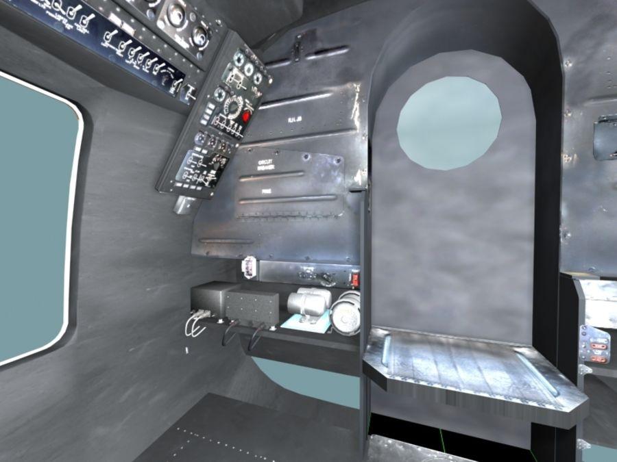 Mi7 Cockpit royalty-free 3d model - Preview no. 24