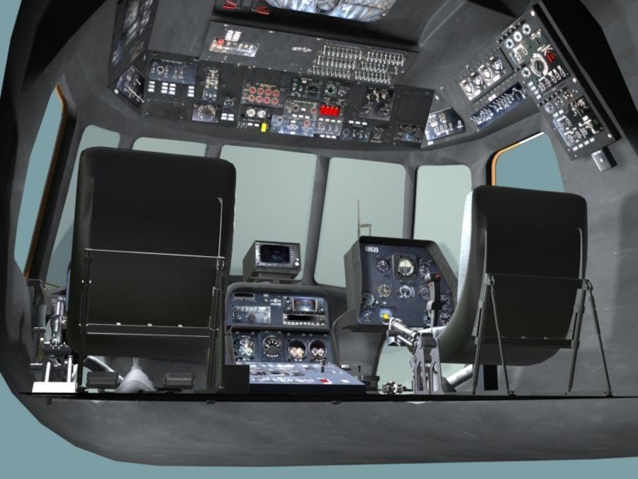 Mi7 Cockpit royalty-free 3d model - Preview no. 12