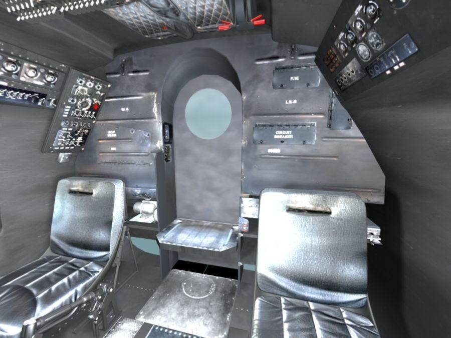 Mi7 Cockpit royalty-free 3d model - Preview no. 22