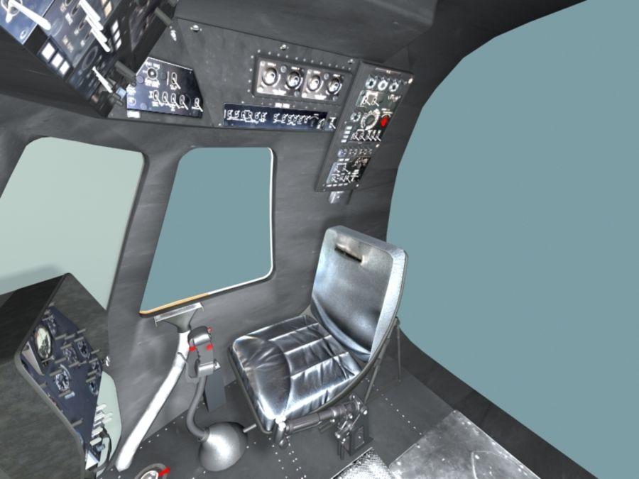 Mi7 Cockpit royalty-free 3d model - Preview no. 18
